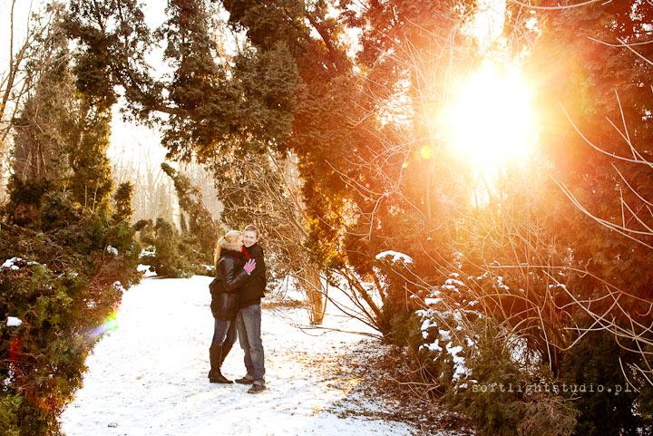 Sesja zdjęciowa u fotografa ślubnego
