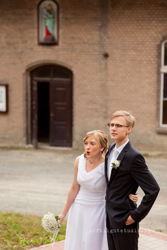Zdjęcia z reportażu ślubnego Izabeli i Jakuba