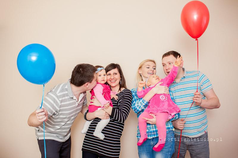 Rodzinna sesja urodzinowa