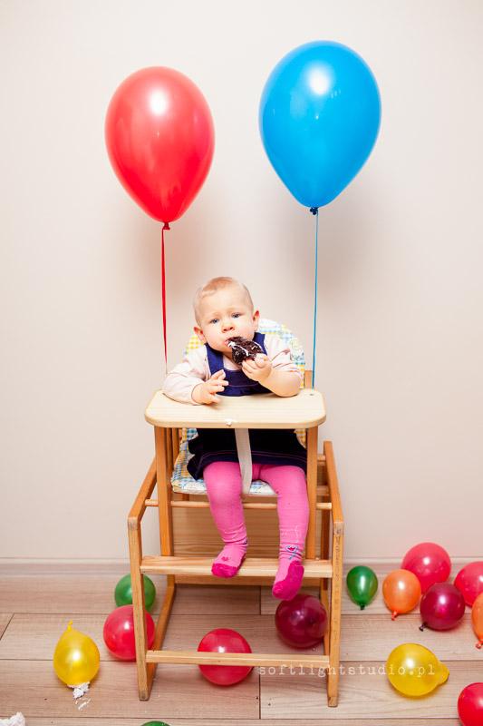 Dziecięca sesja urodzinowa